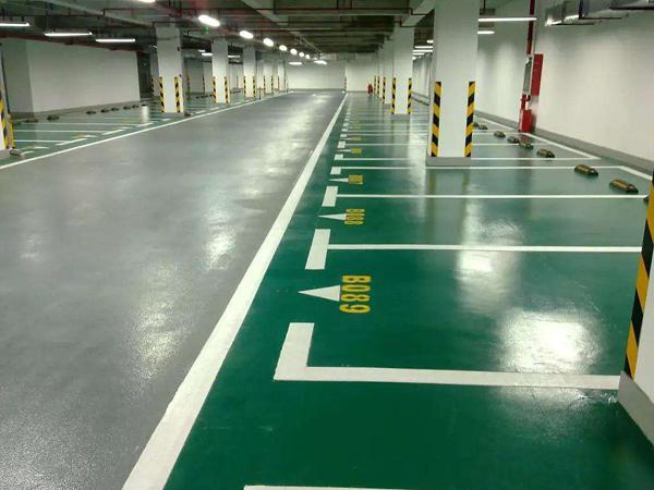 经济型停车场地坪